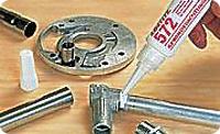 Loctite 572. Анаэробный уплотнитель металлической резьбы. Медленная полимеризация
