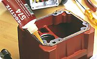 Loctite 574. Уплотнитель-прокладка для металлических фланцев. Для зазоров соединений до 0.5 мм. Быстрое отверждение