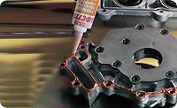 Loctite 5920. Уплотнитель - прокладка гибких фланцев. Медный силиконовый герметик (клей). Высокотемпературный.