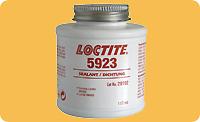 Loctite 5923. Уплотнитель-прокладка для формирования прокладки по месту установки. Банка с кистью.
