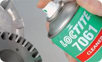 Loctite 7061. Быстродействующий очиститель для металлов. Спрей