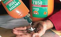 Loctite 7850. Очиститель для рук. Без нефтяных растворителей. Для использования без воды.